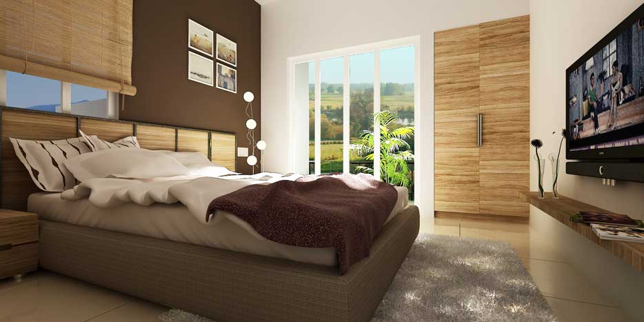 Anantpuram a township project at bapat camp market yard for 3 bhk flat interior designs